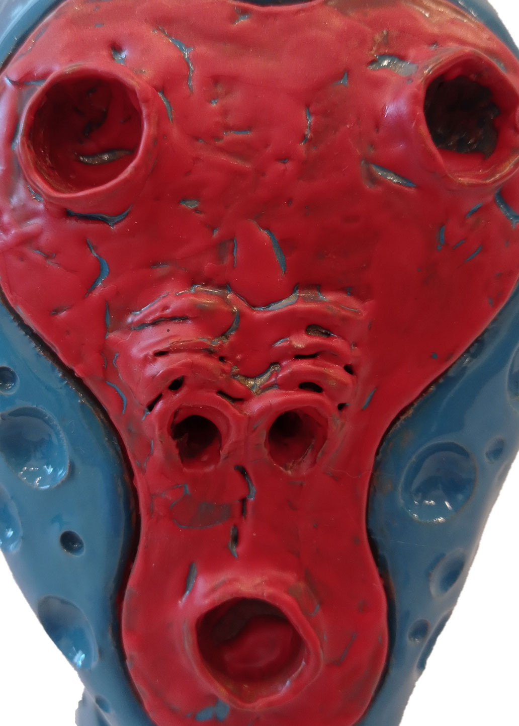 terracotta smaltata 18x12x10 cm