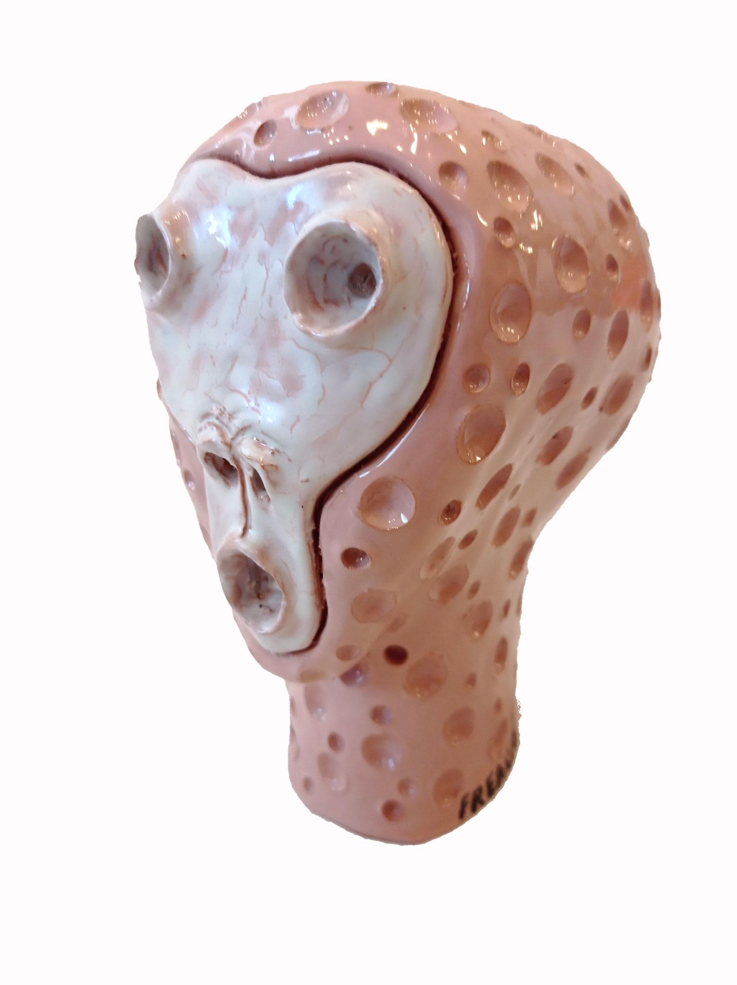 terracotta smaltata 27x22x20 cm