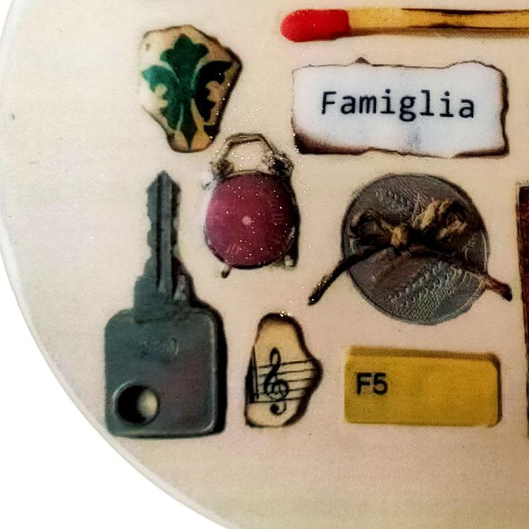 piatto decorativo ø 10 cm