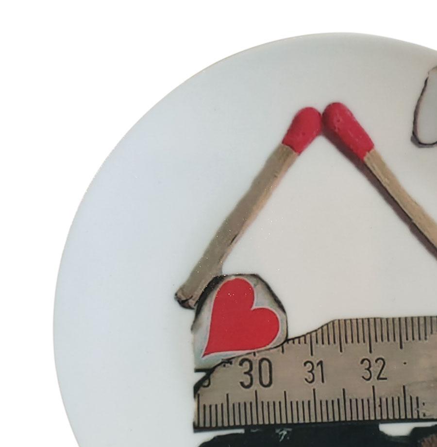 piatto decorativo ø 15 cm