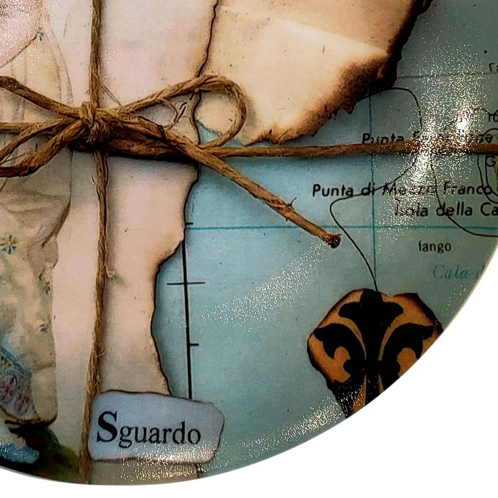 piatto decorativo ø 20 cm