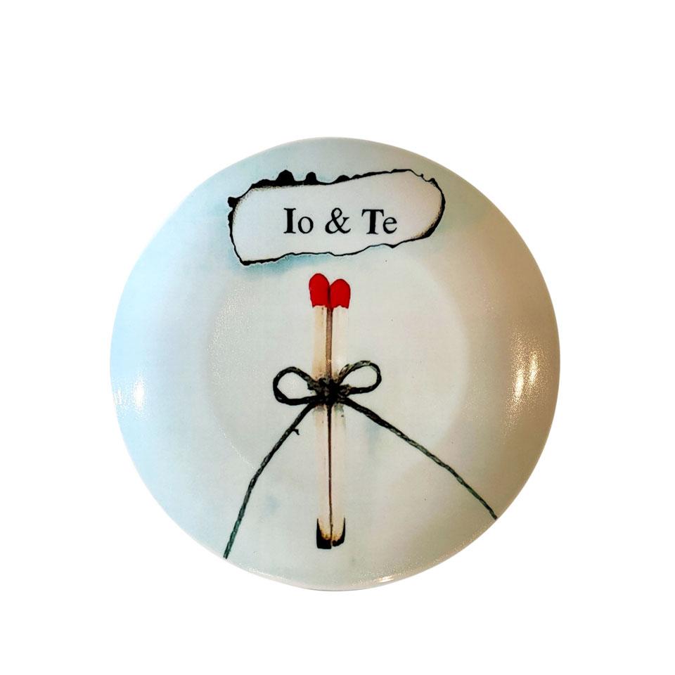 piatto decorativo ø 25 cm