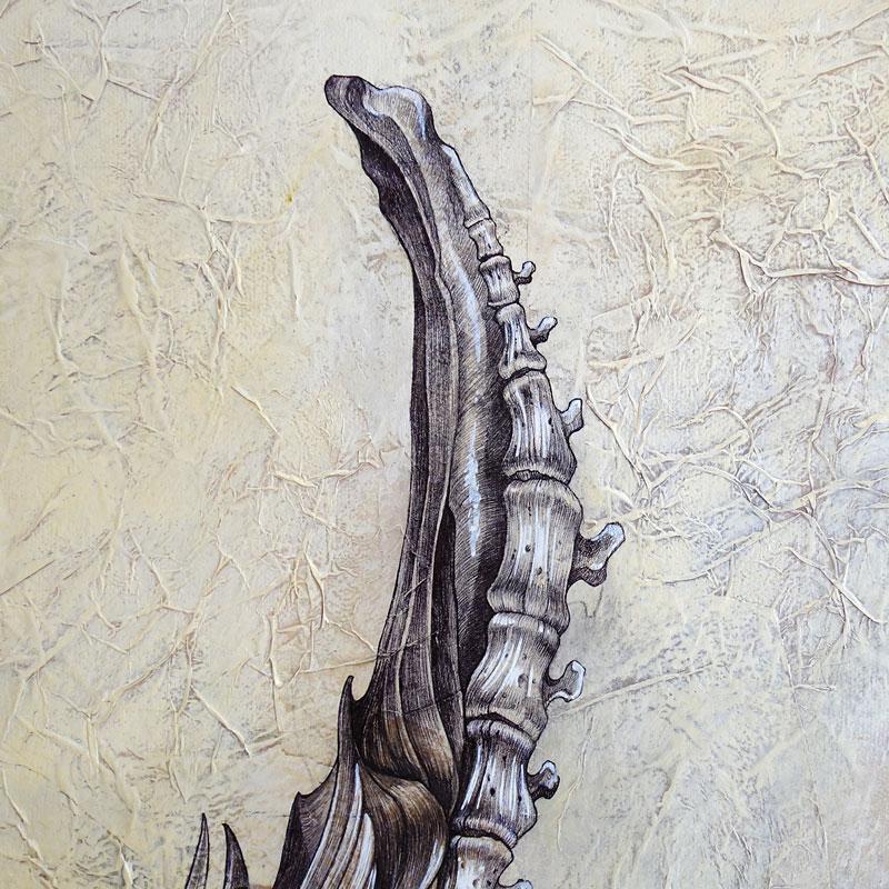 40x60 cm tecnica mista su tela