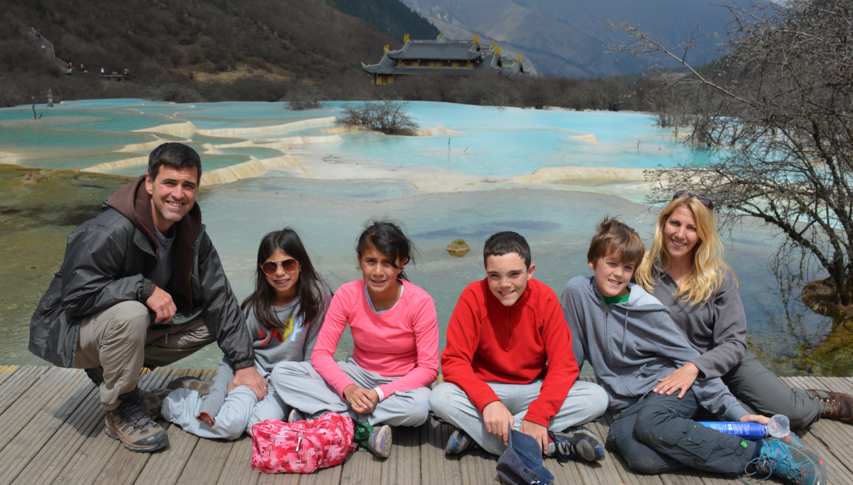 Cortese Family in China