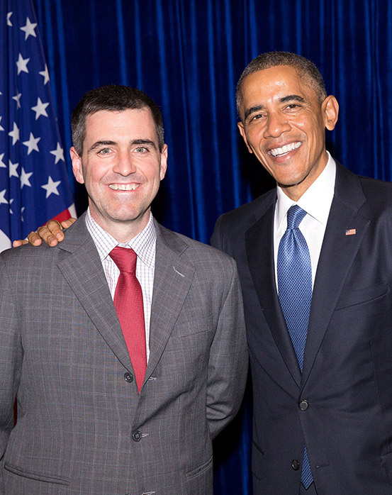 Chris Cortese & Barack Obama