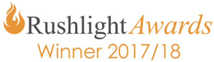 Rushlight Awards 2017 logo
