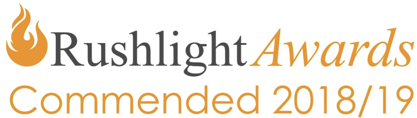 Rushlight Awards 2018 logo