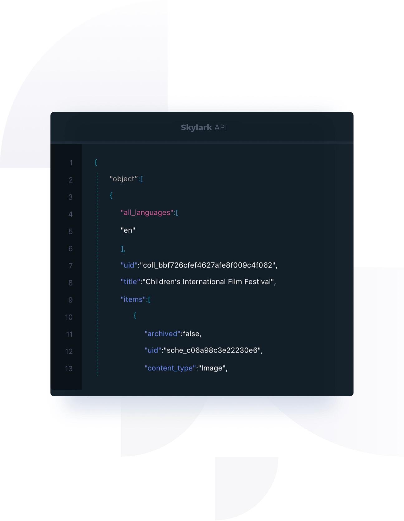 Skylark API