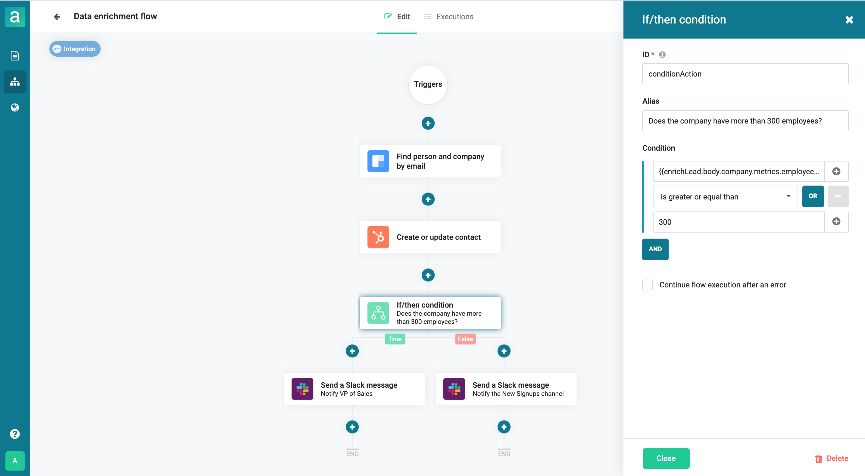 Form builder with data enrichment and integrations