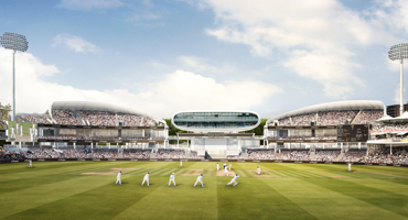 View on inside of Lords Cricket Ground