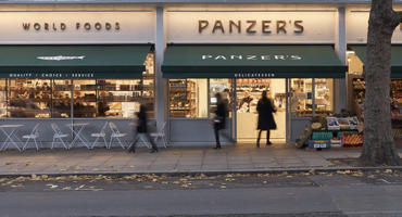Outside of Panzers St Johns Wood