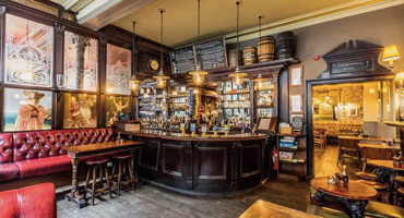 Inside of The Flask in Hampstead