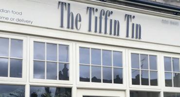 The exterior of Tiffin Tin in Totteridge.