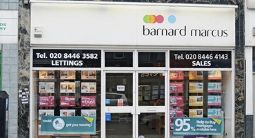Exterior of Barnard Marcus in North Finchley.