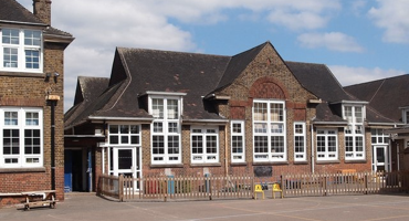 Exterior of Martin Primary School in East Finchley.