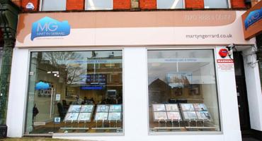 Martyn Gerrard shop front in East Finchley.