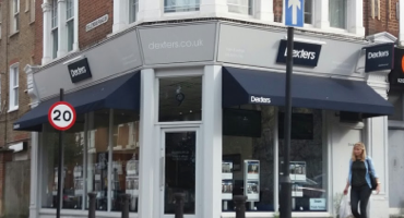 Shop front for Dexters in South London.