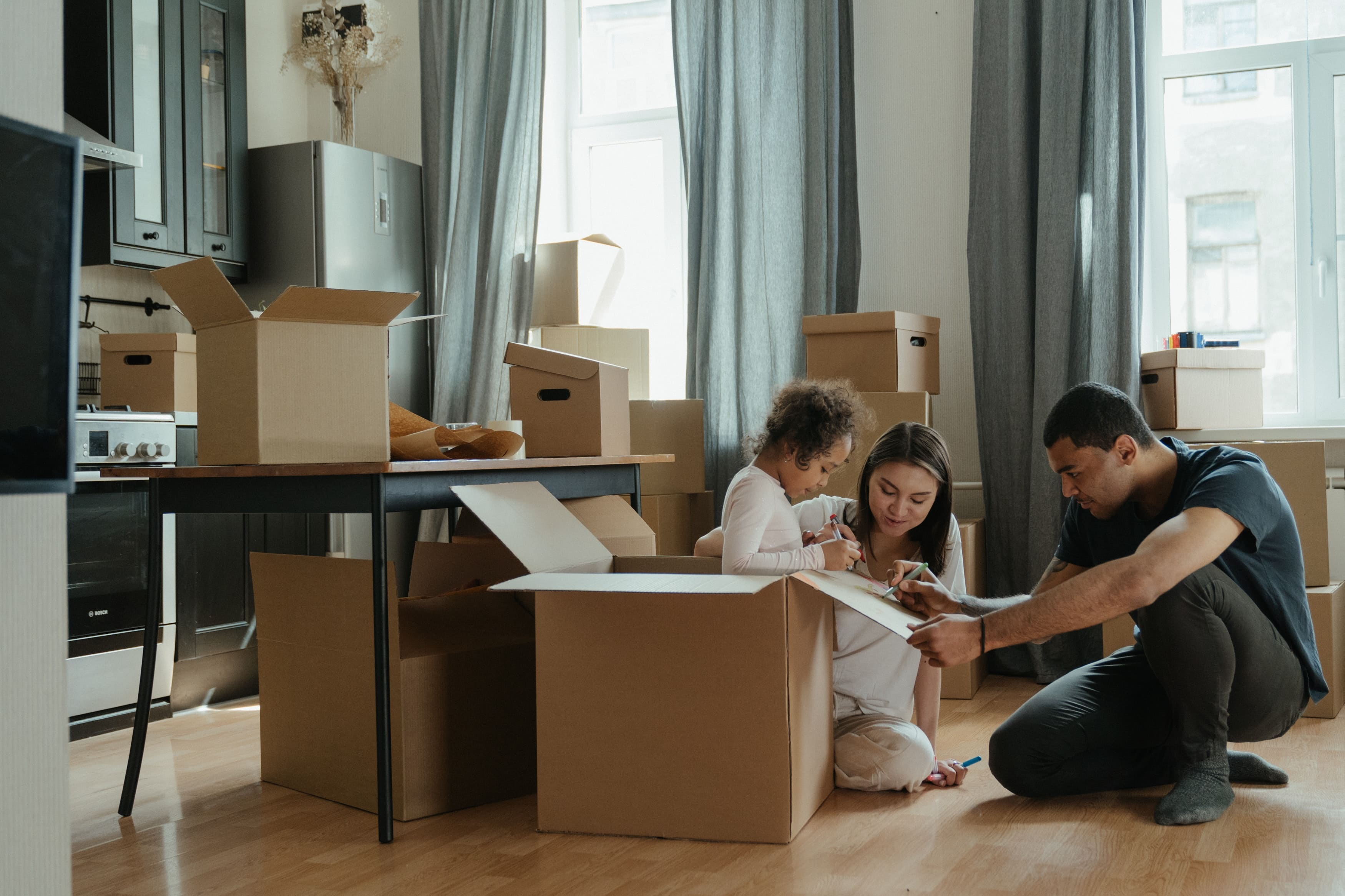 free moving boxes in london
