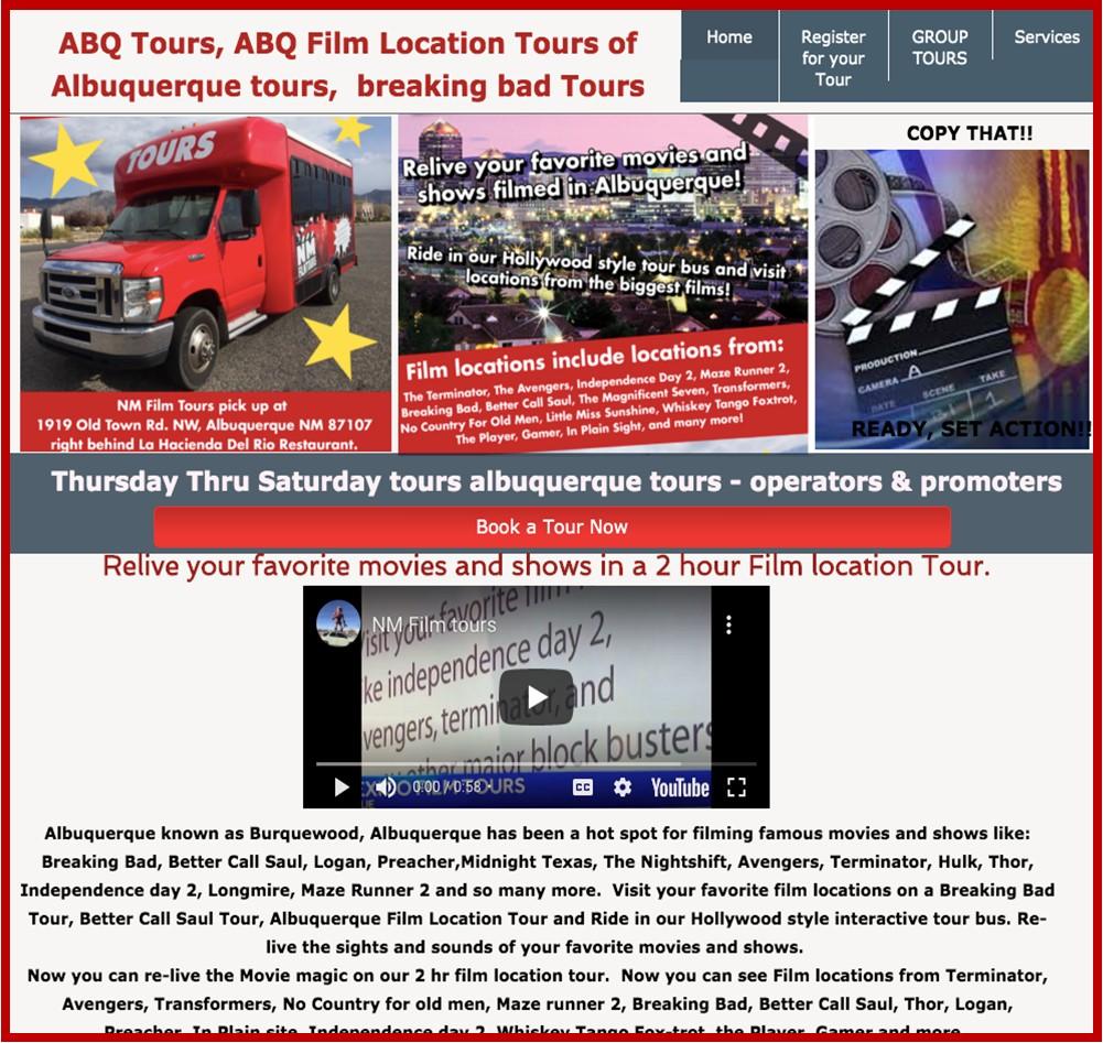 ABQ Film Tours