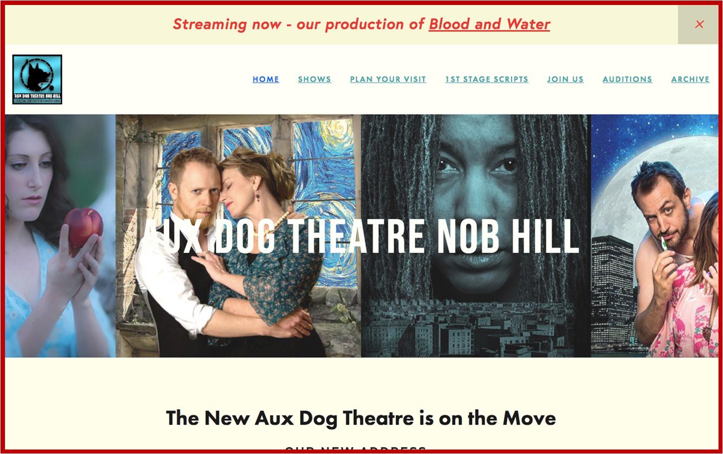 Aux Dog Theater Nob Hill