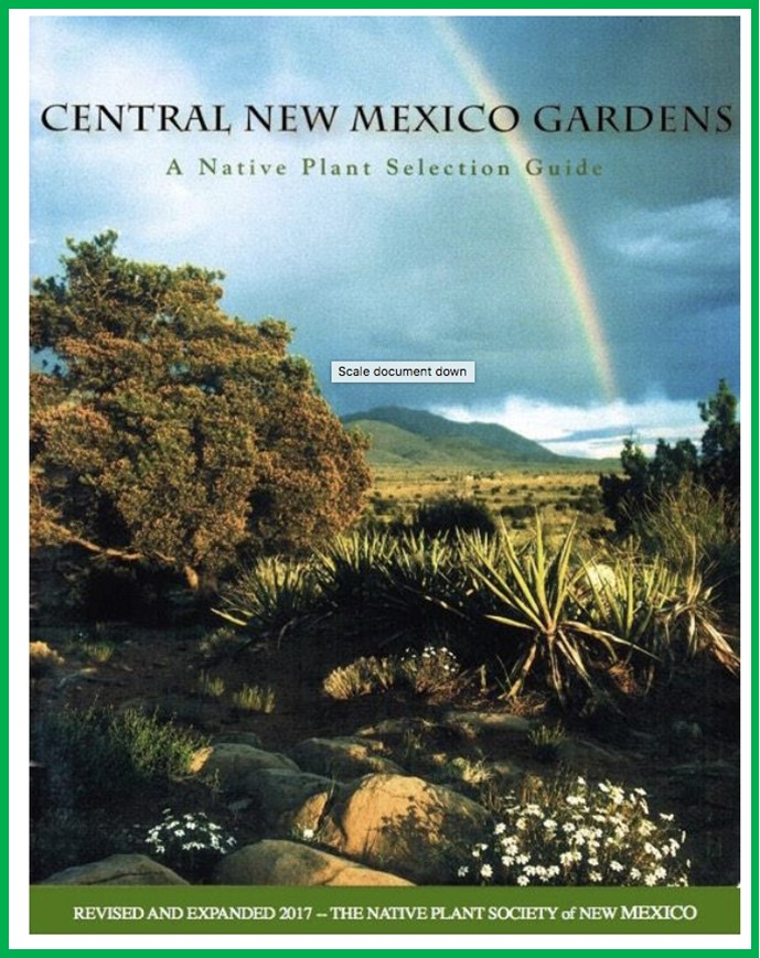 Central NM Gardens Native Plant Guide