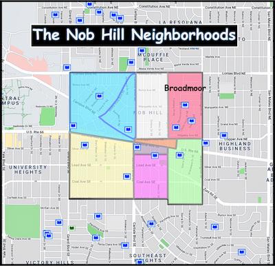 Broadmoor Neighborhood in Nob Hill