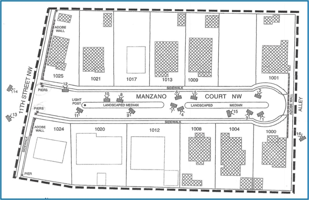 Manzano Court Historic Places Register