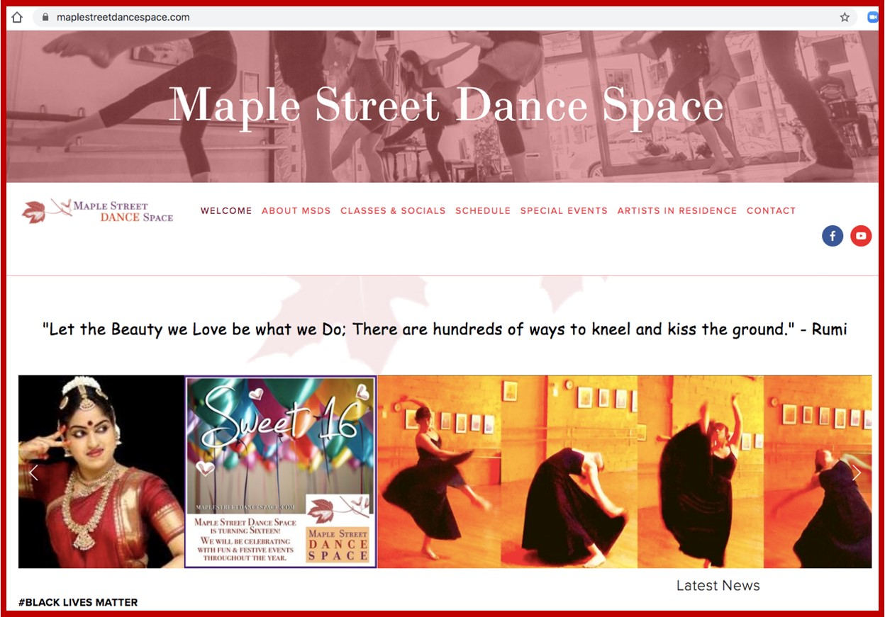Maple Street Dance Space