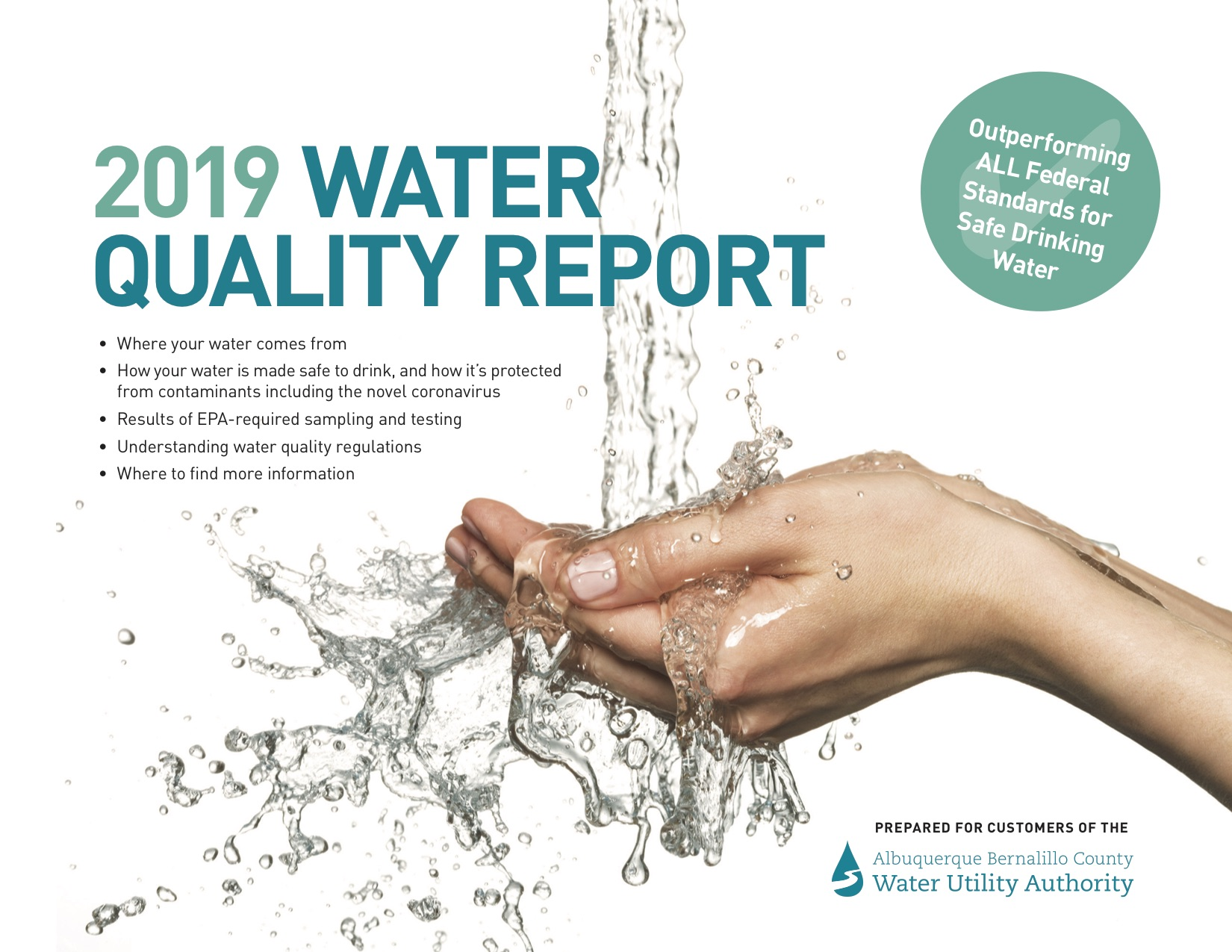 MetroABQ 2019 Water Quality Report