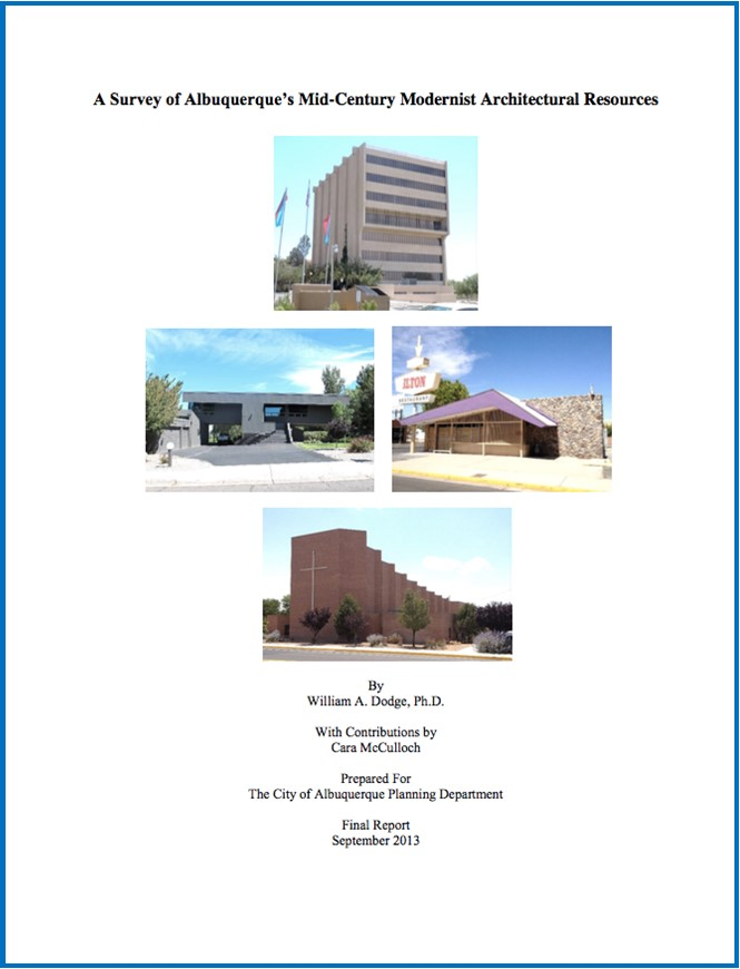 MetroABQ Mid-Century Survey 2013