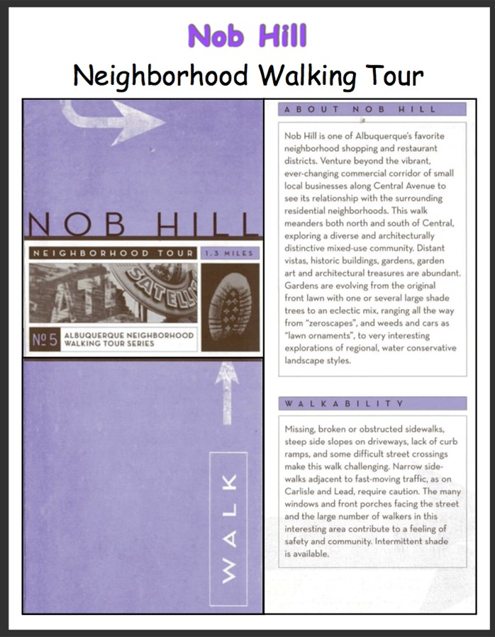 Monte Vista Triangle Historic Walking Tour