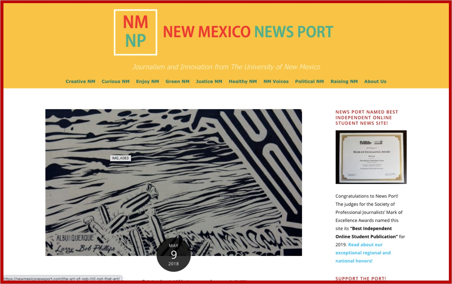 New Mexico News Port