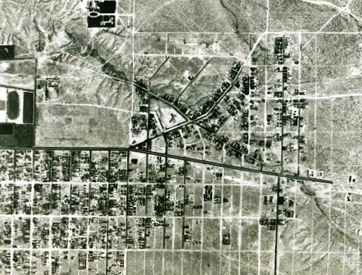 Nob Hill Aerial 1935