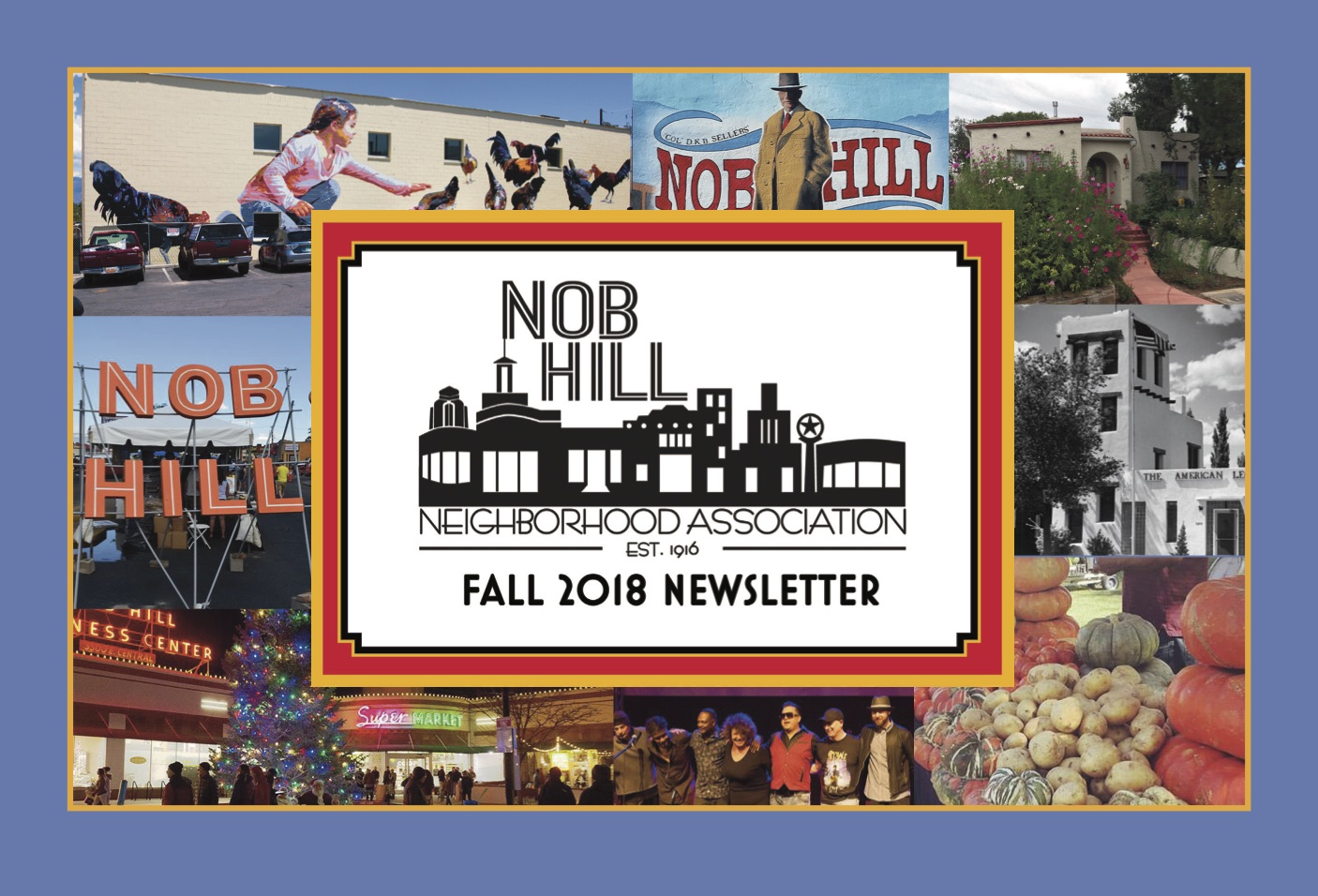 Nob Hill Neighborhood Newsletter Fall 18