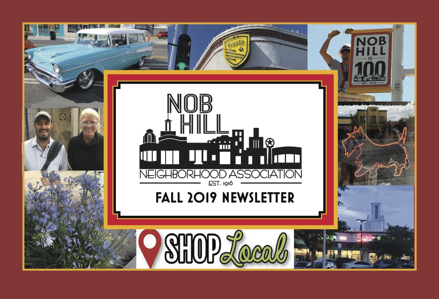 Nob Hill Neighborhood Newsletter Fall 19