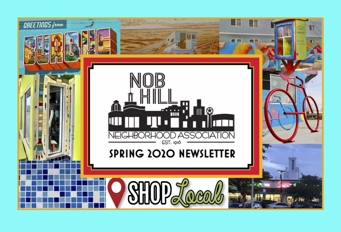Nob Hill Neighborhood Newsletter Spring '20