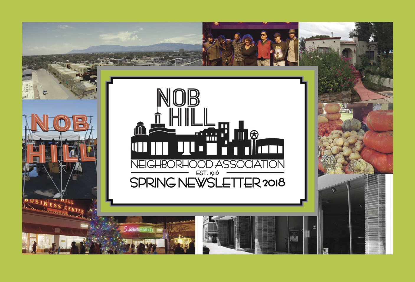Nob Hill Neighborhood Newsletter Spring 18