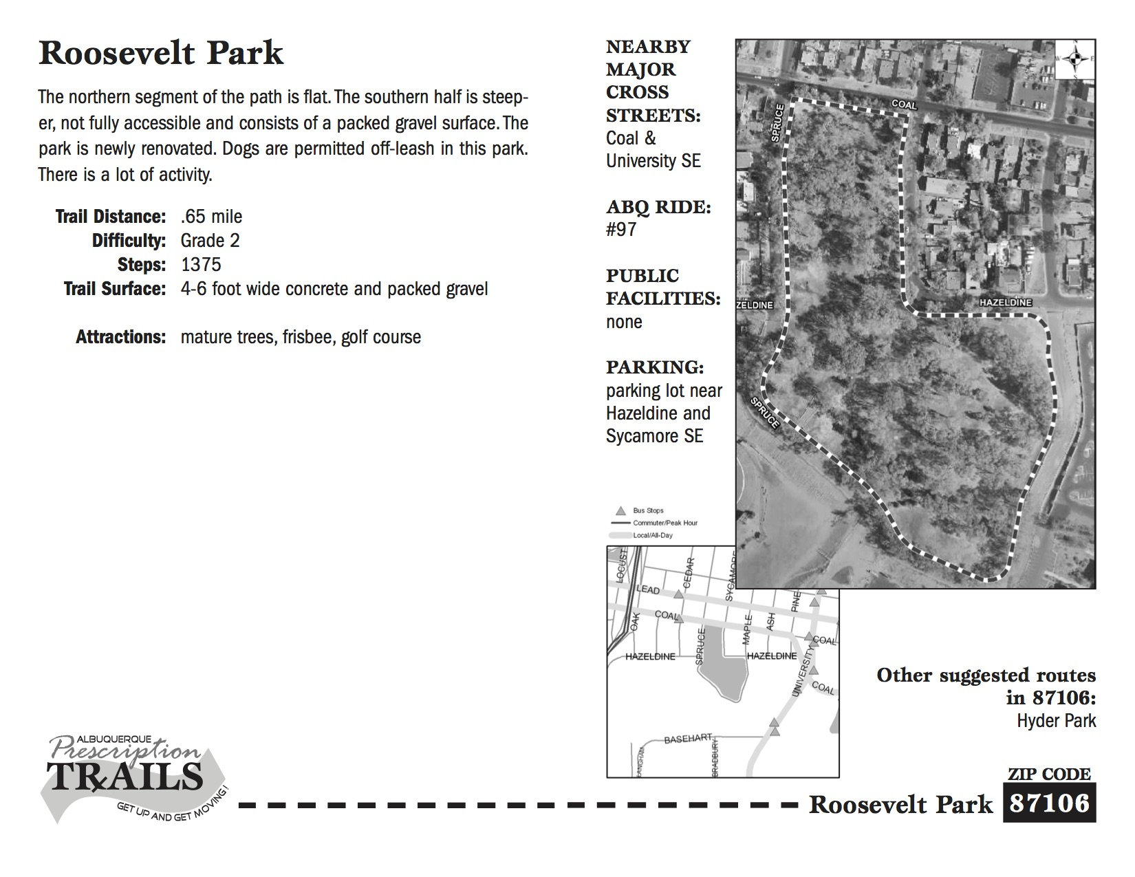 Roosevelt Park Two-Thirds Mile Walk