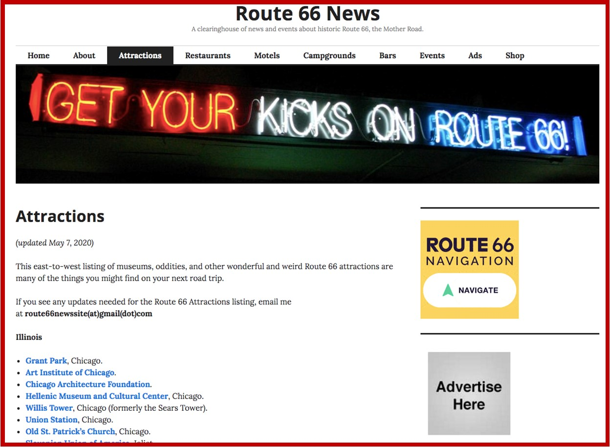 Route 66 News