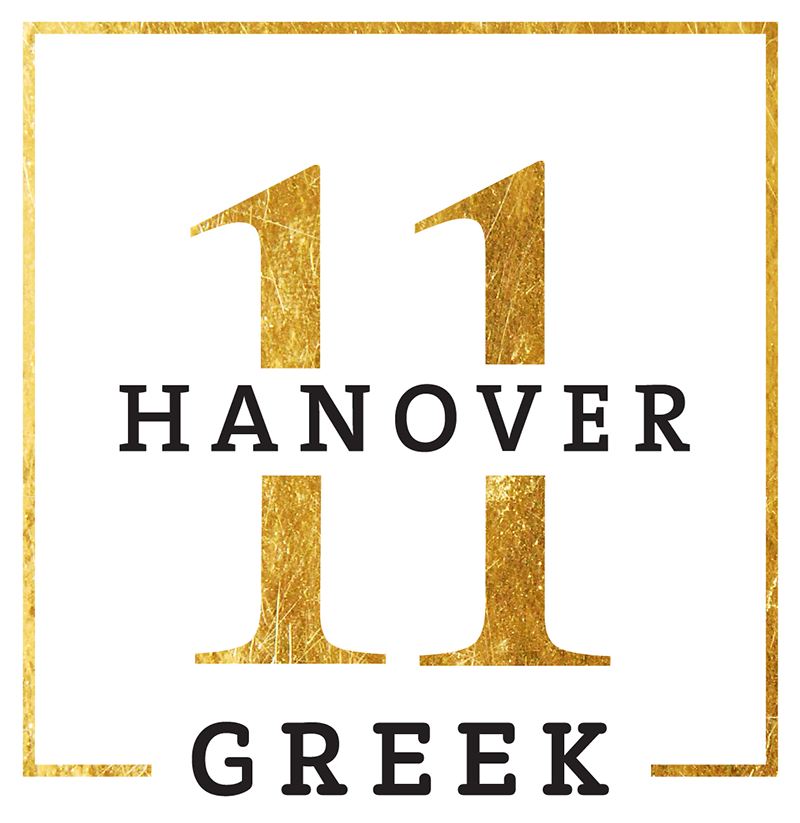 11 Hanover Greek Logo