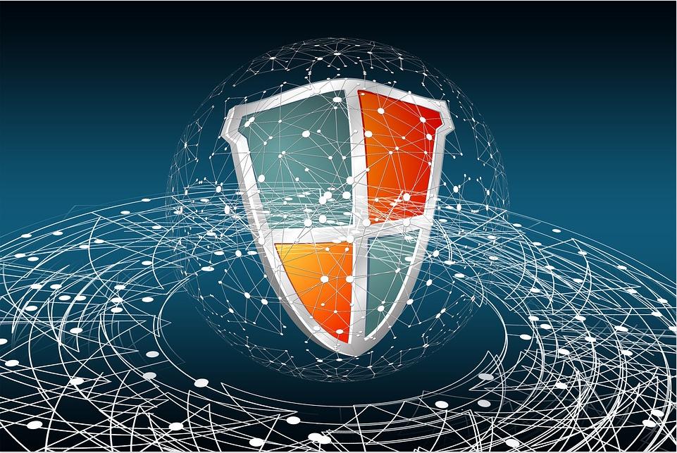 AV Windows Shield Background