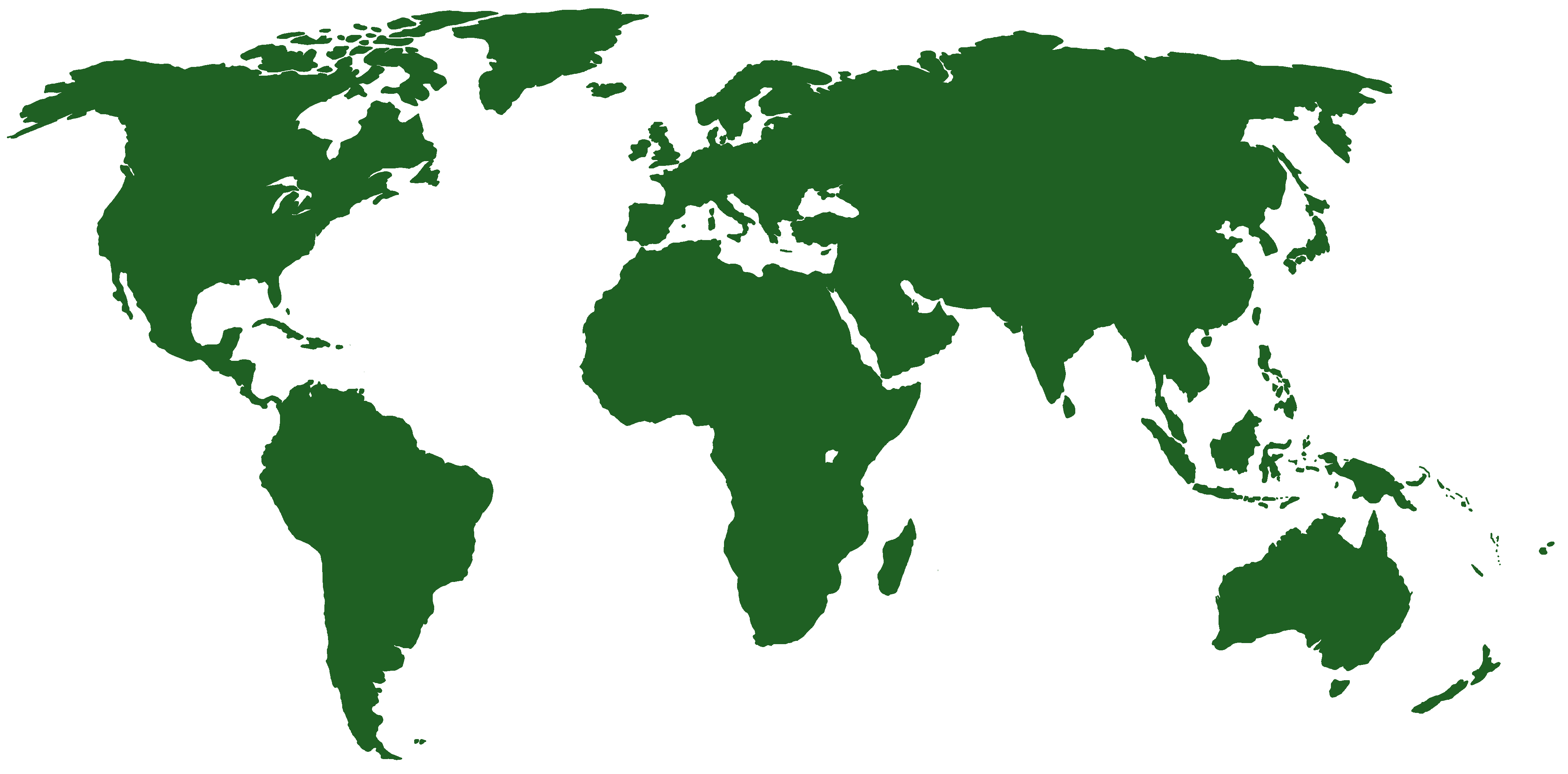 World Map with playground locations