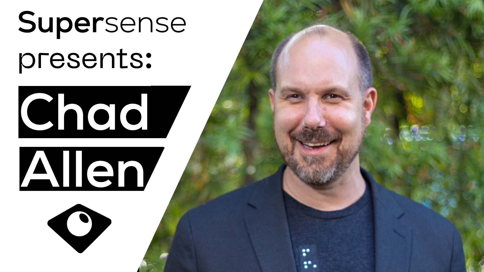 Supersense presents: Chad Allen, Blind Magician, and the Creator of the Unseen Comic