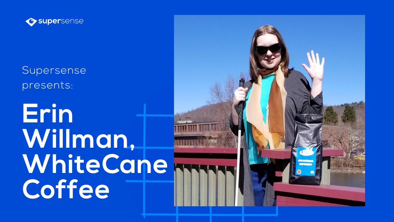 Photo of Erin Willman -CEO of White Cane Coffee, Warren, Pennsylvania.