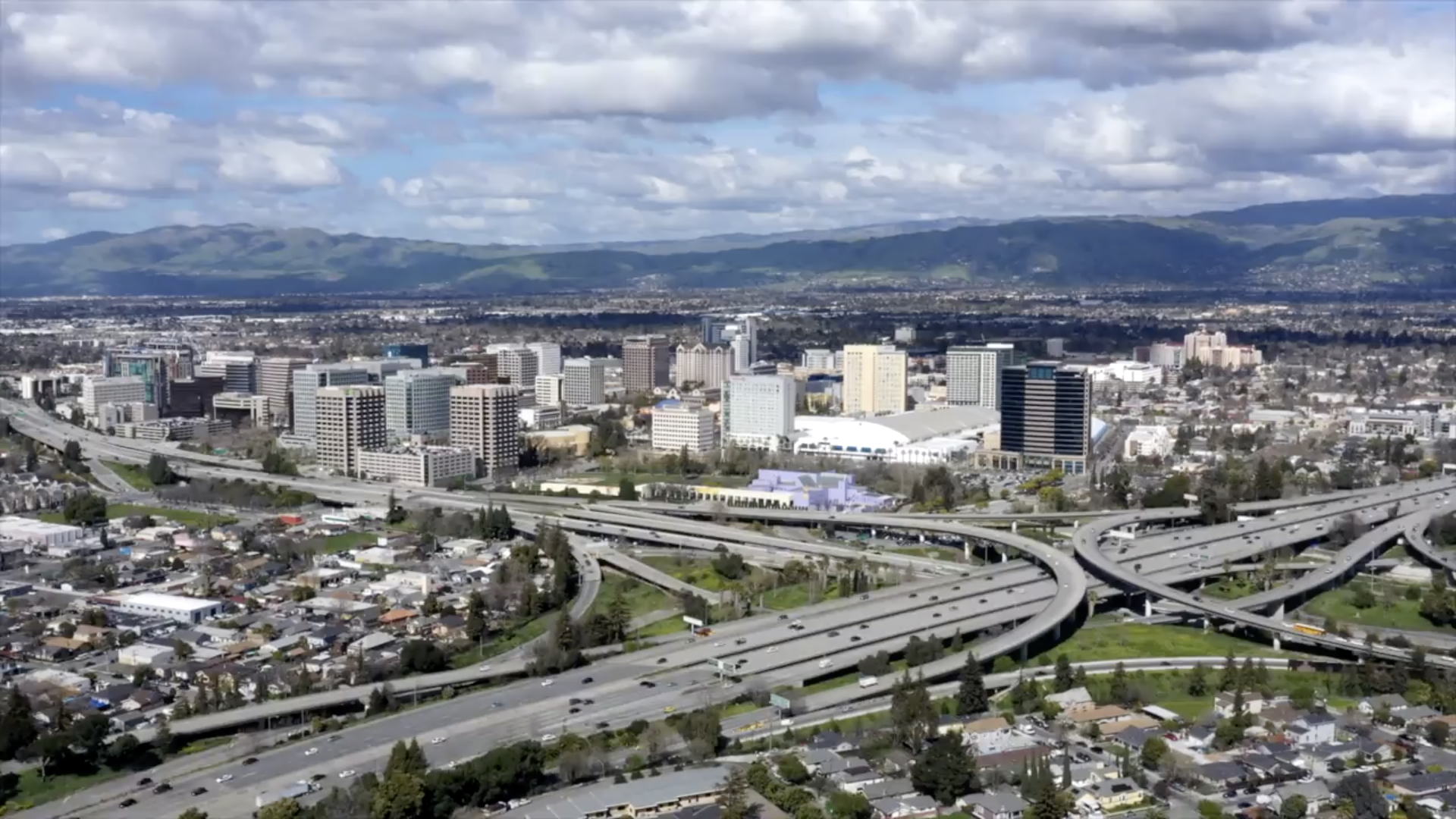 San Jose from above
