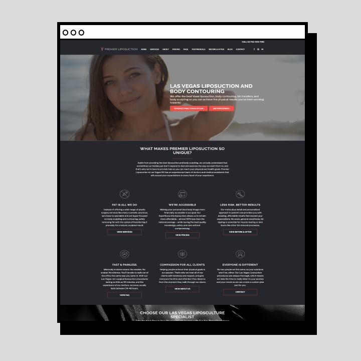 Premier Lipo Website