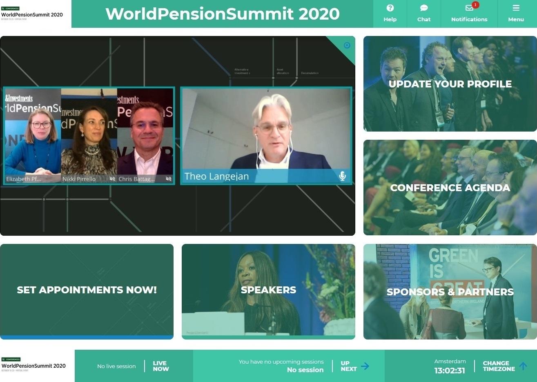 world pension summit speakers