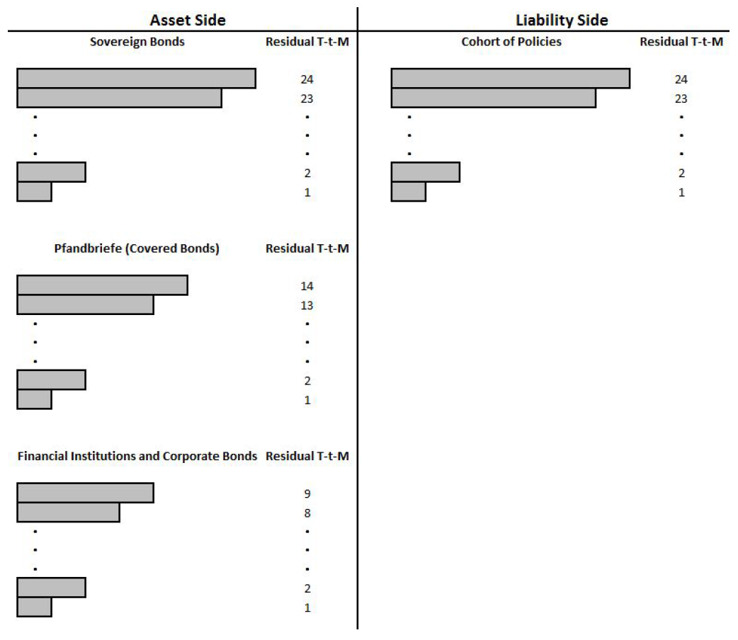 Fälligkeitsstruktur Assets Liabilities