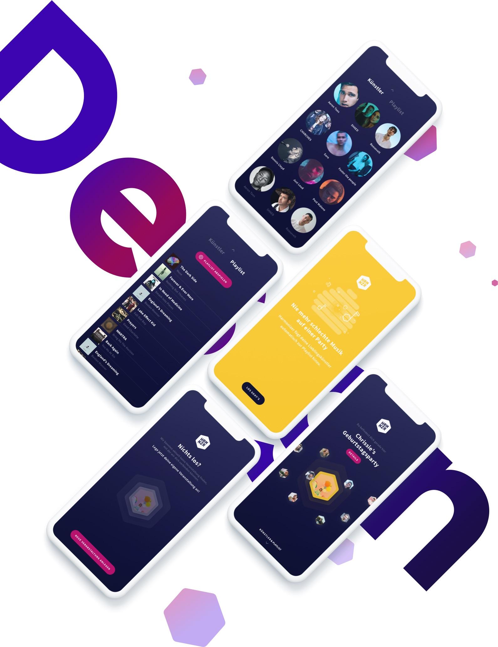 harmonizer App MVP Design