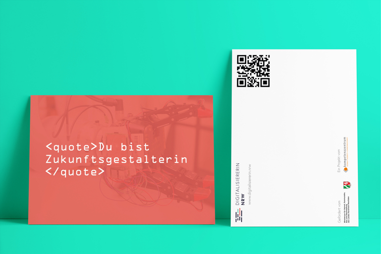 Digitalisiererin NRW Postkarten